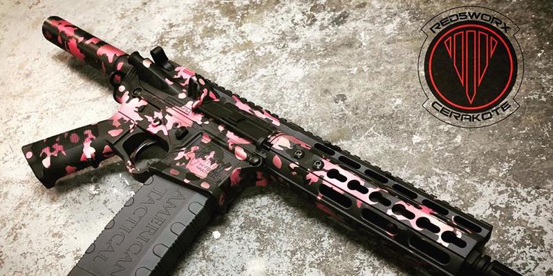 Cerakoted Pistol